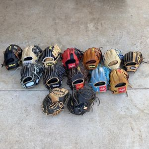 Baseball gloves for Sale in La Puente, CA