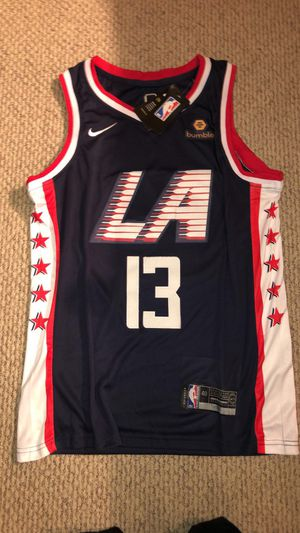 Brand new with TAGS! PAUL GEORGE CLIPPERS JERSEY (size M) for Sale in San Ramon, CA