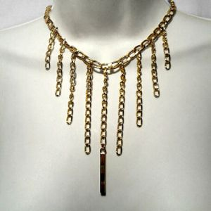 New Gold Tone Chain Necklace for Sale in Aurora, OH