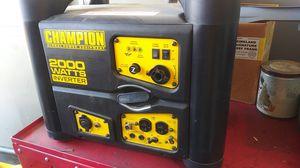 Inverter generator 2000 Watts new warranty $500 for Sale in Los Angeles, CA