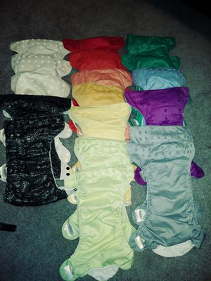 Cloth Diaper Lot -32 diapers for Sale in Lacey, WA