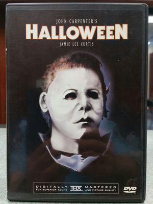 Halloween 1978 DVD Movie John Carpenter Michael Myers Anchoor Bay Original Remastered OOP Out of Print for Sale in San Fernando, CA