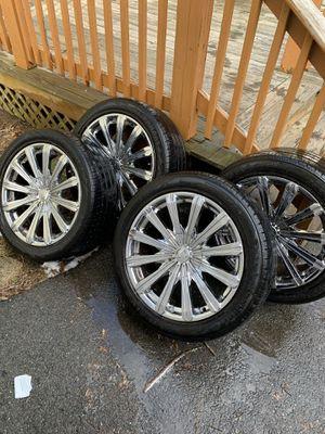 "Lionheart 265/40/20 Tires and Borghini 20"" Rims for Sale in Randolph, MA"