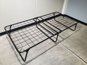 Folding fold-up portable bed frame 38x75 inches for Sale in Tempe, AZ