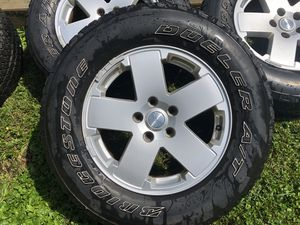Jeep Sahara Wheels and Tires for Sale in North Caldwell, NJ