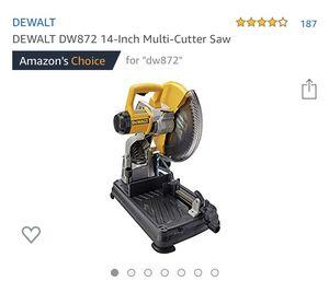 "14"" multi cutter saw for Sale in Jurupa Valley, CA"