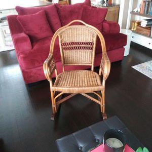 Vintage Wicker Rocking Chair for Sale in Hoquiam, WA