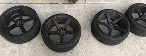 "Black 20"" Inch Rims for cheap for Sale in Richmond, CA"