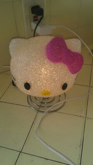 Hello kitty night light (works) for Sale in Fresno, CA
