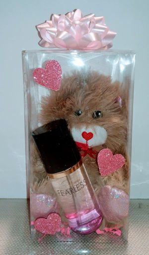 New Gift Victoria Secret Fearless with Bear for Sale in Rialto, CA