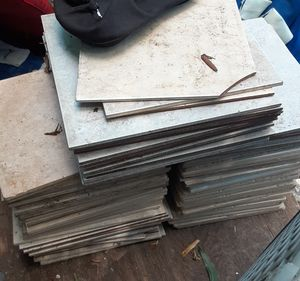 81 pieces of tile going for $40 for Sale in Victoria, TX