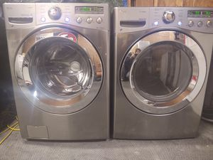 LG Steam Washer and Steam Dryer ELECTRIC for Sale in Lancaster, PA