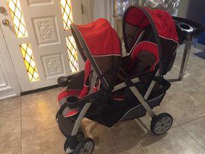 Chico double stroller for Sale in Phoenix, AZ