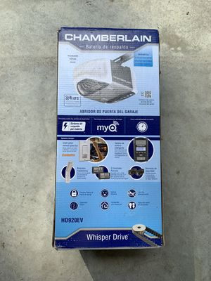Chamberlain garage door opener new in box for Sale in Wake Forest, NC
