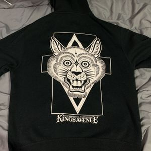 Kings Avenue tattoo shop zip up hoodie for Sale in Queens, NY