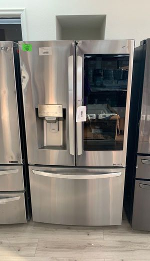 LG LFXC22596S REFRIGERATOR WITH WARRANTY HM for Sale in Fort Worth, TX