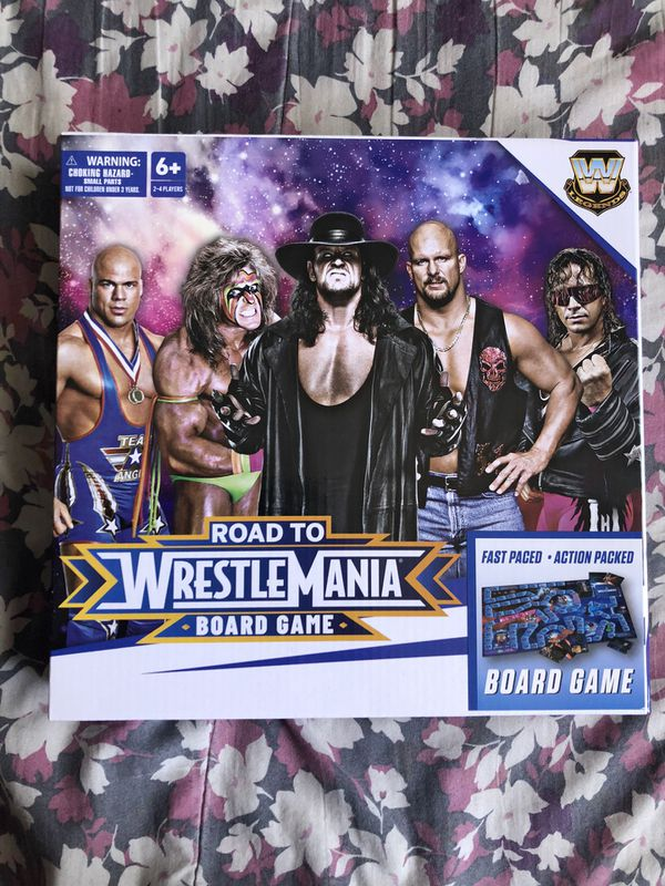 Road to WrestleMania Board Game