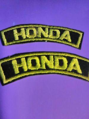 Honda motorcycle patch for Sale in Atlanta, GA