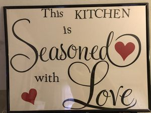 Kitchen sign for Sale in Millbury, MA