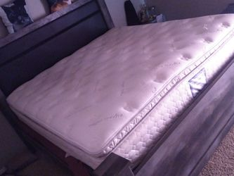 Bed Frame And Mattress. Cali King for Sale in Abilene,  TX