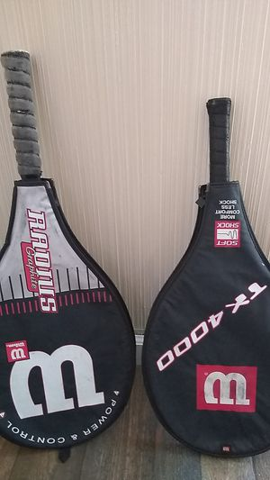 Wilson tennis rackets 35 OBO for Sale in National City, CA