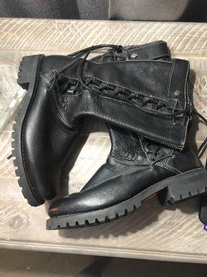 Harley Davidson woman's boots for Sale in Ashburn, VA