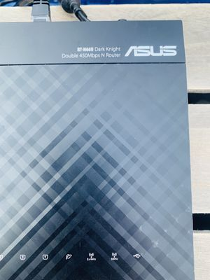 Asus RT-N66u dark knight dual band router for Sale in Meridian, ID