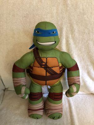 """18"""" Teenage Mutant Ninja Turtle Leonardo Plush Stuffed Toy (Viacom Brand) for Sale in Fairfax, VA"""