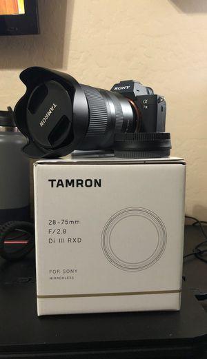 Tamron 28-75mm 2.8 Sony e mount lens for Sale in Gilbert, AZ