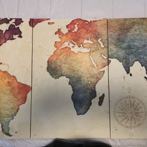 World Map Wall Art for Sale in Miami, FL