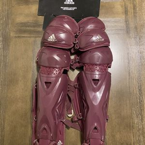 "Adidas Pro Series 2.0 Leg Guards Baseball Catchers 17"" NEW for Sale in Pompano Beach, FL"