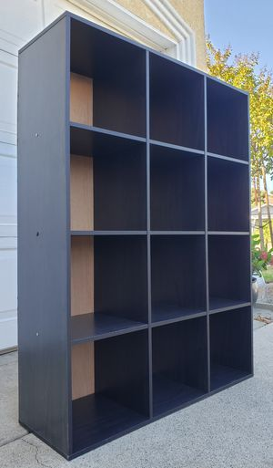 Beautiful SOLID 12 Cubbies Cubes Display Bookshelves Bookcases Curio Pantry Kitchen Organizer Unit Stand for Sale in Monterey Park, CA