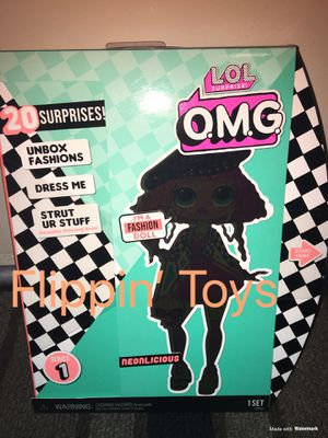 Lol Surprise OMG Fashion Doll- Neonlicious for Sale in Huntington Beach, CA