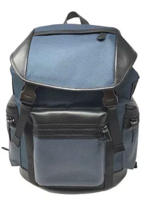 Coach Terrain Trek Pack Denim Black Backpack F24677 - MSRP $ 595.00. for Sale in Lunenburg, MA