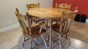 Kitchen table with 4 chairs, kitchen chairs for Sale in Boca Raton, FL