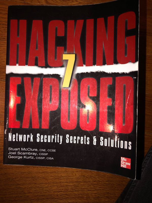 Hacking 7 Exposed- Network Security Secrets & Solutions
