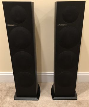 Pioneer floor standing speakers for Sale in Herndon, VA
