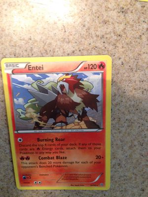 Pokemon Basic Entei for Sale in Fresno, CA