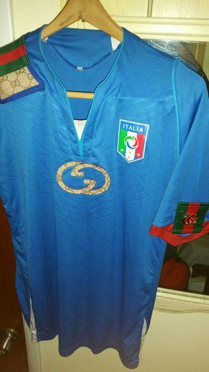 5b46556e7 Authentic Gucci Italia Soccer Jersey for Sale in Port St. Lucie