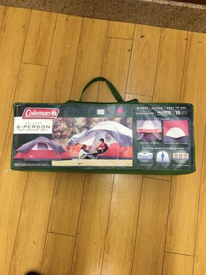 Coleman 8 person 17ft x 10ft Camping tent Outdoors for Sale in Los Angeles, CA