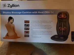 Zyllion shiatsu massage cushion for Sale in Prattville, AL