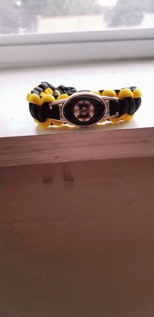 Bruins Adjustable Paracord Bracelets For Adults & Children! for Sale in Braintree, MA