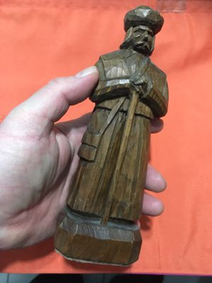 Hand carved old Hungarian statue for Sale in Queens, NY