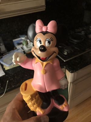 Disney mini mouse coin bank for Sale in Sewell, NJ