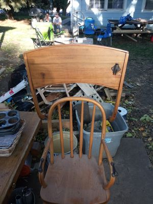 Wooden highchair for Sale in Sioux Falls, SD