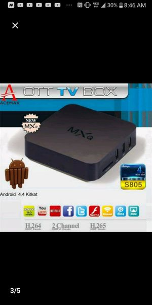 Smart quad core tv box for tv for Sale in Guadalupe, CA