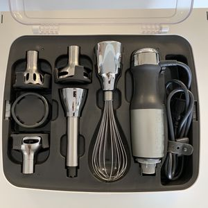 KitchenAid 5 Speed Immersion/Hand Blender w/ Case And Attachments for Sale in Key Biscayne, FL