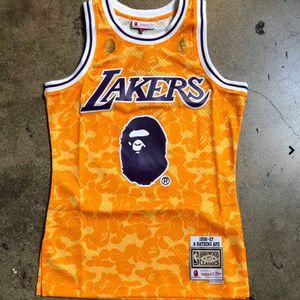 Lakers Bape Jersey S-XXXL for Sale in Houston, TX