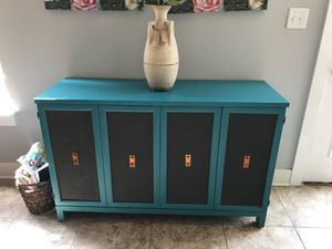 Pier 1 cabinet with lots of storage for Sale in Indianapolis, IN