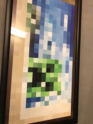 Minecraft framed poster for Sale in West Palm Beach, FL